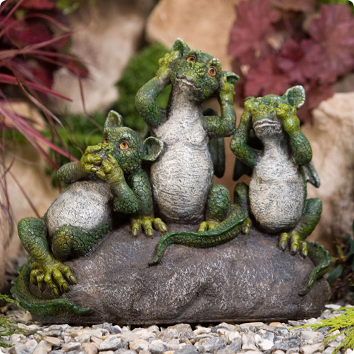 Garden Ornaments Dragons